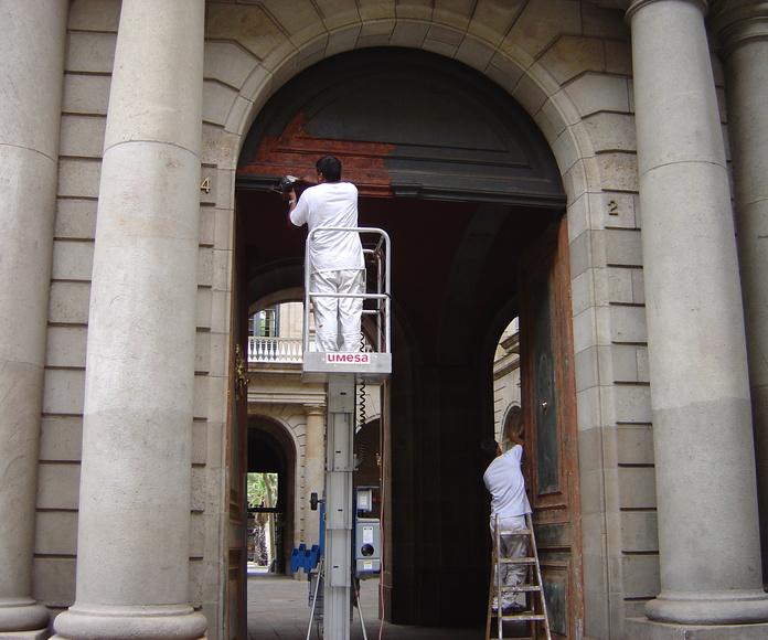 Tratamientos decorativos: Servicios de Pintors Martínez