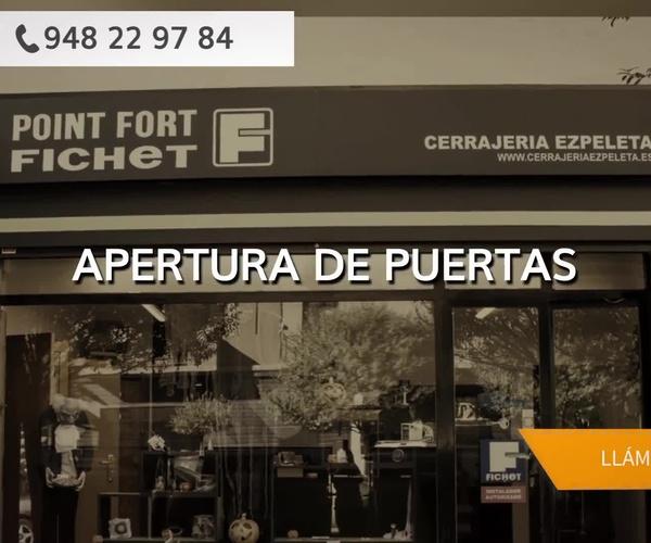 Cajas fuertes en Navarra: Cerrajería Ezpeleta