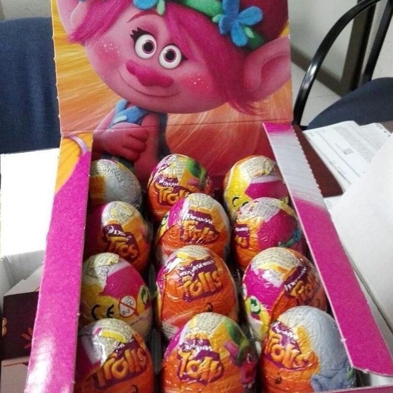 Chocolatinas y huevos de chocolate: Productos   de Candy Five, S.L.