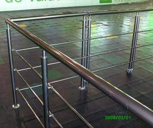 Barandilla de aluminio en Valencia