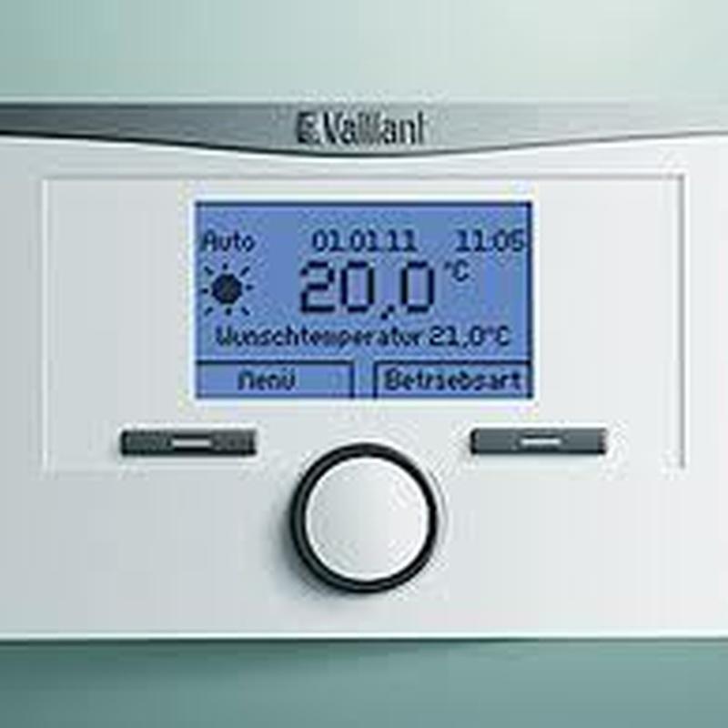 TERMOSTATO CALOR MATIC 350F RADIO EBUS VAILLANT: Productos de Instalaciones Hermanos Munuera