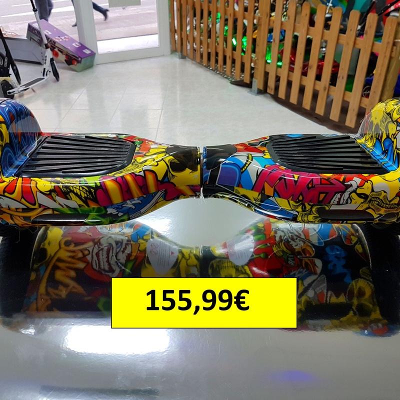 """Hoverboard 6'5""""(Pulgadas) 155,99€ diferentes colores.: Productos y servicios de Scooter Family Electric (PATIPACO)"""
