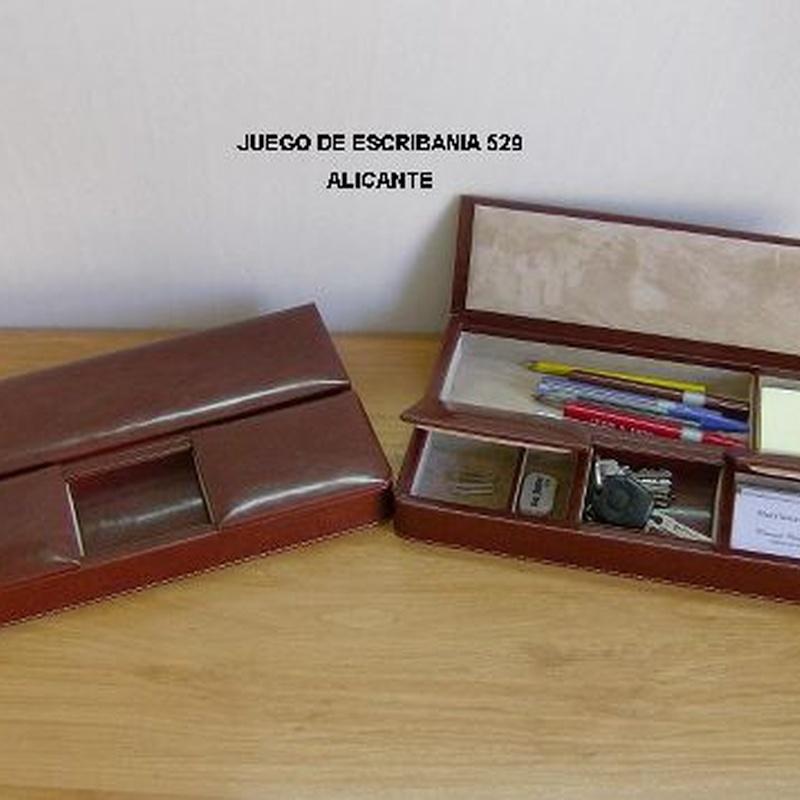 JUEGO DE ESCRIBANÍA 529: Catálogo de M.G. Piel