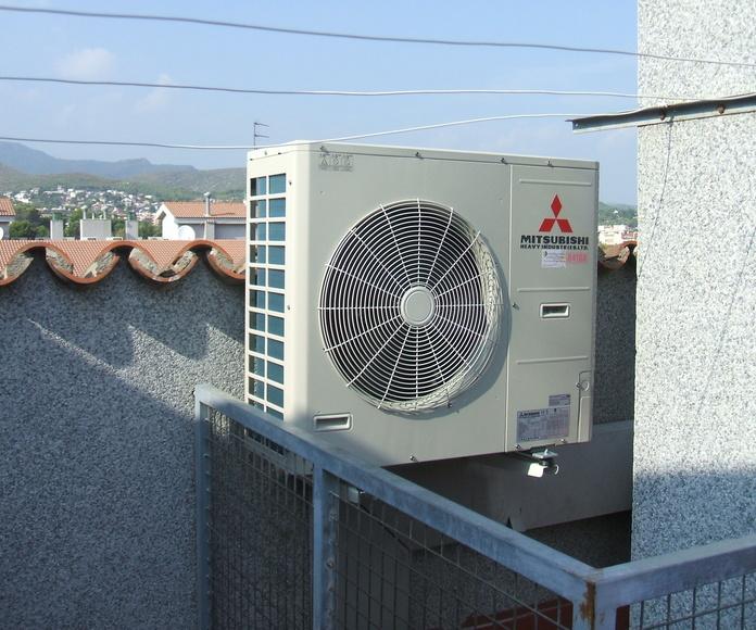 Aire acondicionado: Servicios de Castellfred