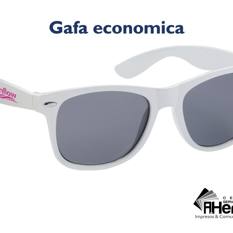 Gafas de sol económicas, disponibles en 9 colores