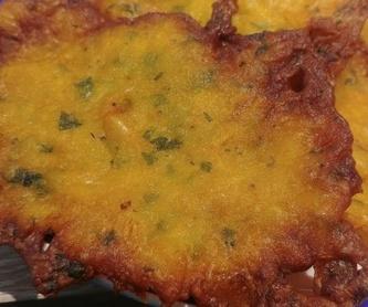 Almuerzos: Menú de Los Bartolos del Sur
