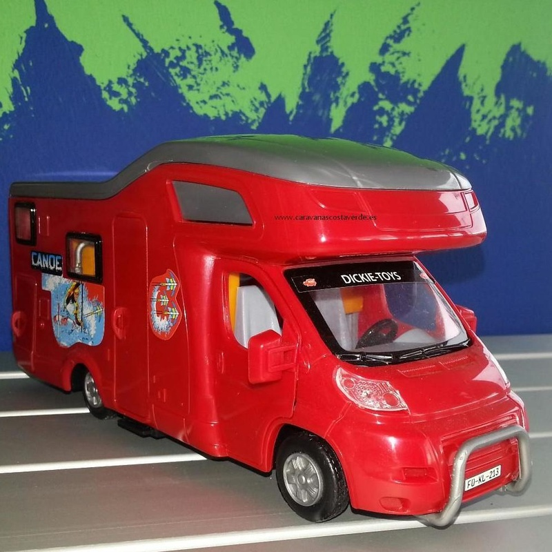 Autocaravana de Juguete: Catálogo de Caravanas Costa Verde