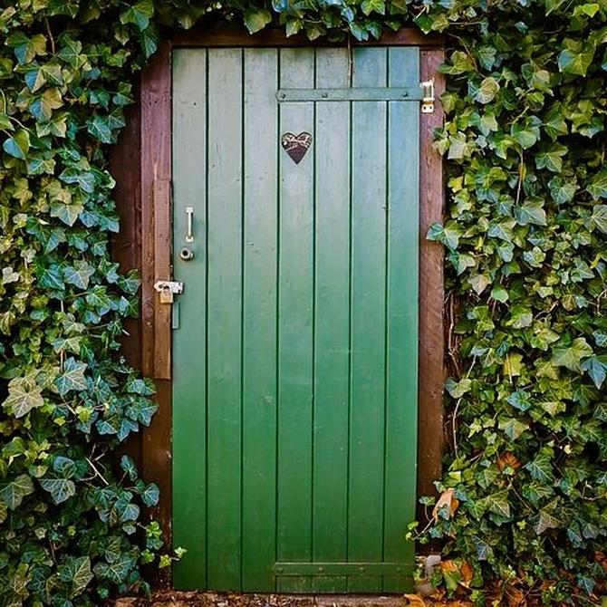 Cómo pintar puertas de madera