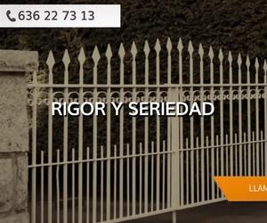 Puertas de hierro forjado en Málaga: Metálicas Moreno