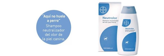 Champú neutrolor Bayer perros