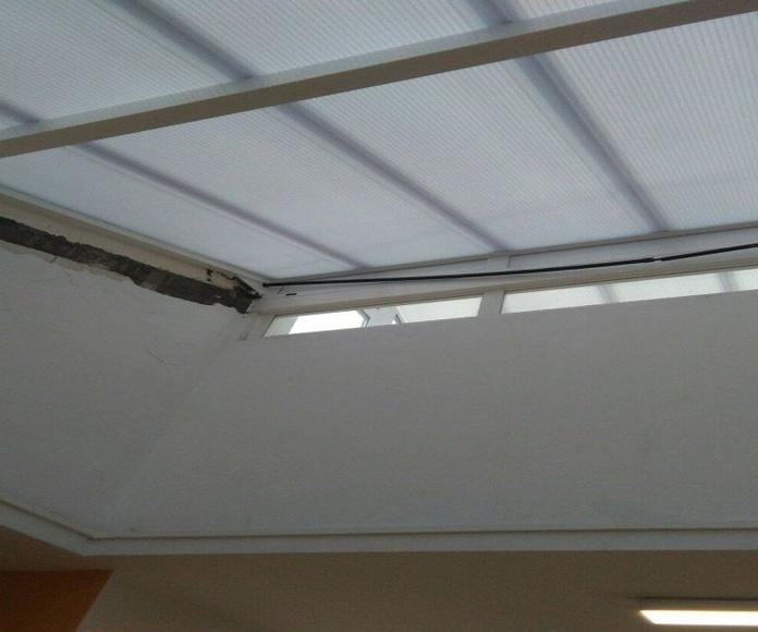 Desmonte techo
