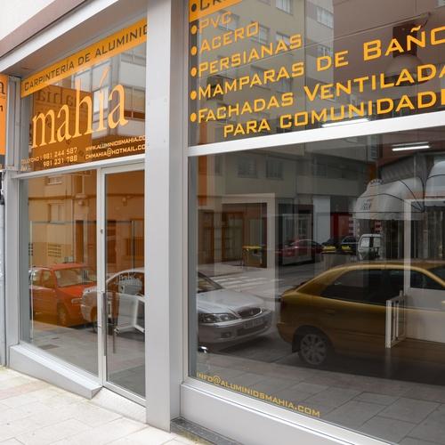 Carpintería metálica y cristalería A Coruña