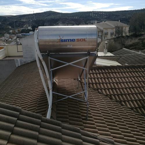 Energía solar térmica en Huelma, Jaén