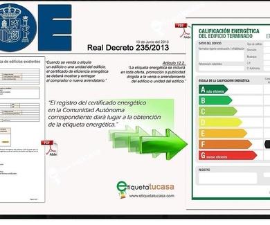 Real Decreto 235/2013, de 5 de abril, por el que se aprueba el procedimiento básico para la certific