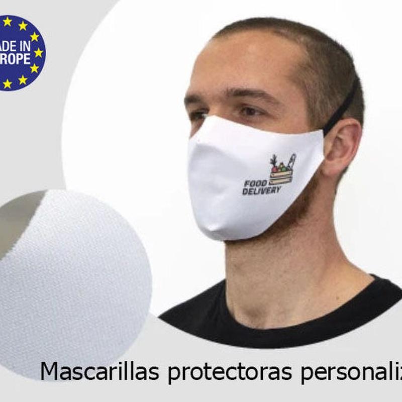 Mascarillas protectoras personalizadas otra herramienta para luchar contra el Coronavirus