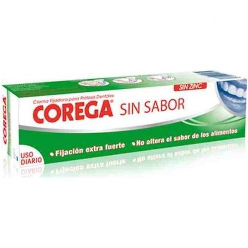 Corega crema extrafuerte sin sabor: Catálogo de Farmacia Las Cuevas-Mª Carmen Leyes
