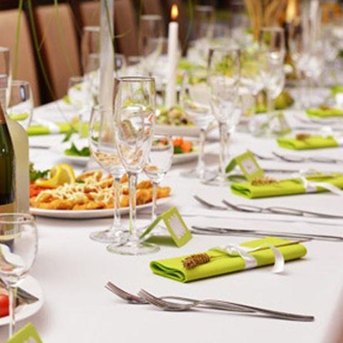 Organizar una cena de empresa