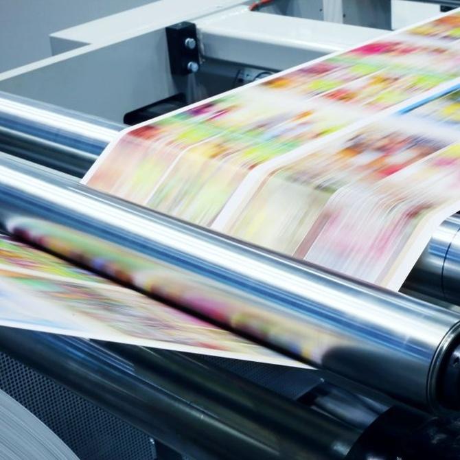 ¿Qué es la impresión offset?