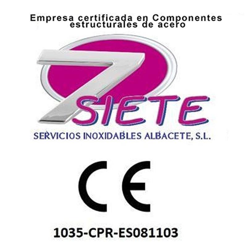 Productos de acero inoxidable: Servicios de Servicios Inoxidables Albacete