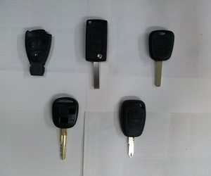 Cambios de carcasas llaves de coche