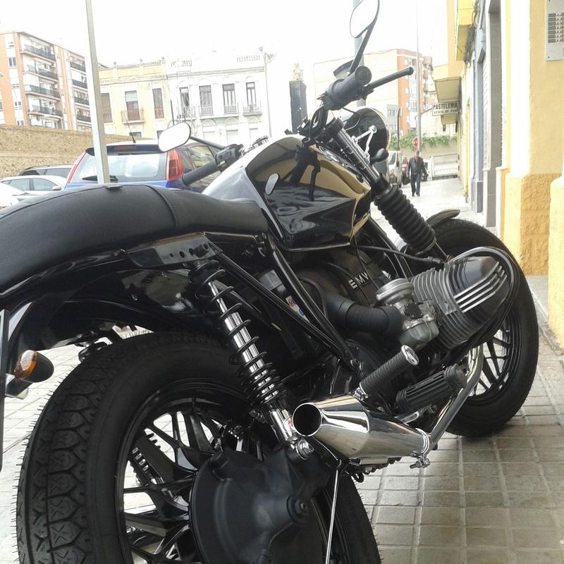 restauracion bmwr65, personalizacion de motos, customizar motos en valencia, transformacion motos en valencia