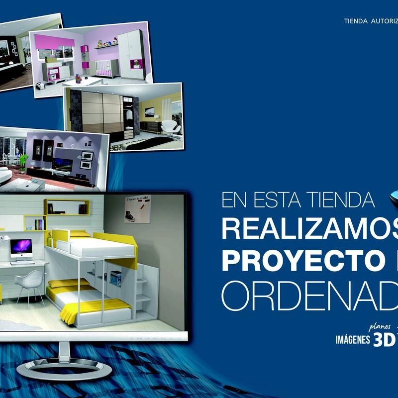 Diseños en 3D: Mobiliario de Jaume O. Grau Mobles
