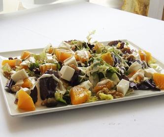 Paellas y Arroces: Carta de Restaurante La Marina