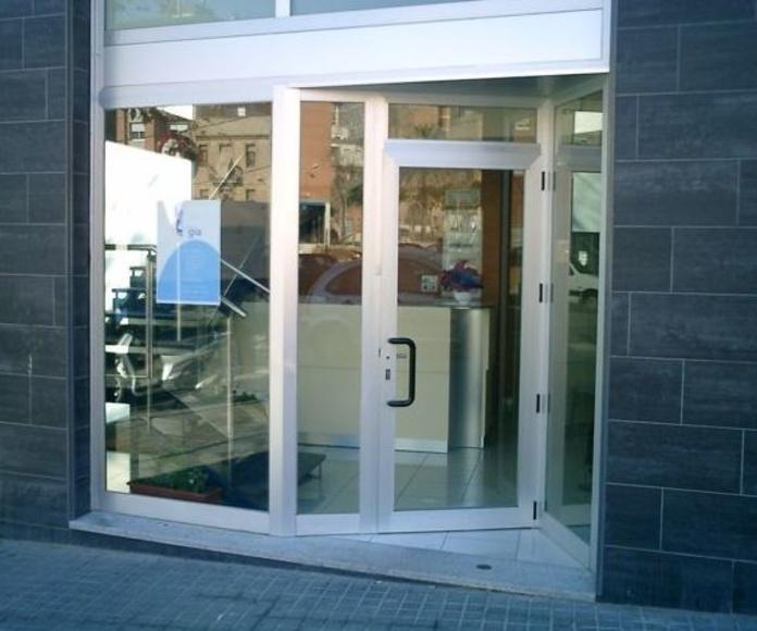 Escaparates de aluminio.: Productos y servicios de Metal Masa, S.L.