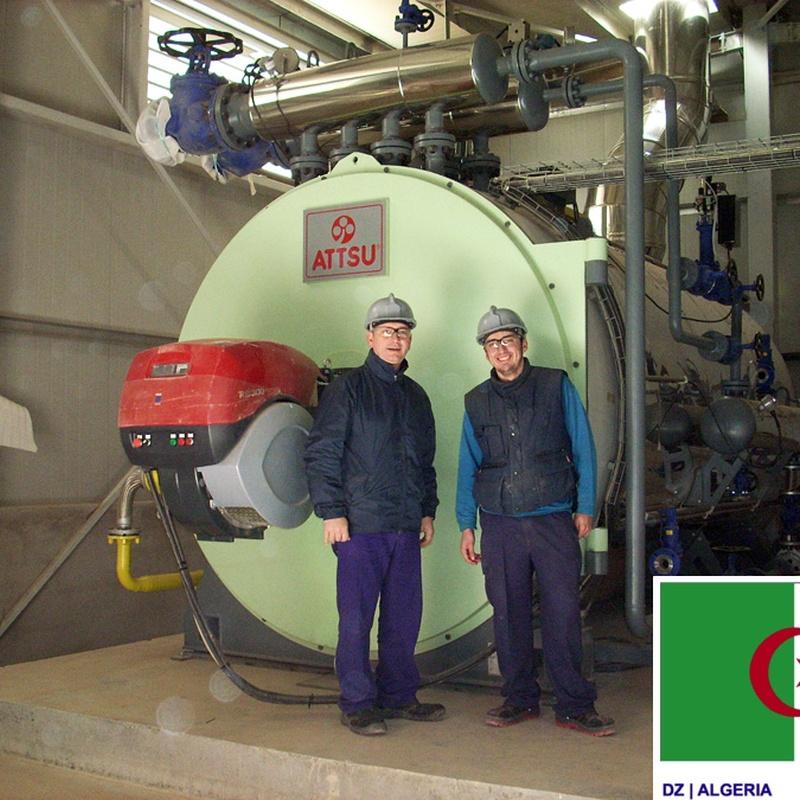 Aplicaciones de vapor en nuevos procesos industriales: Productos y servicios of ATTSU TEYVI