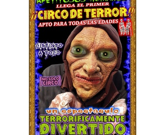 Vídeo Circo del terror familiar : Espectáculos de Circo Del Terror Familiar