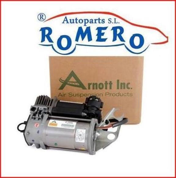 Compresor de la suspensión de Volkswagen Touareg: Suspensiones y vehículos de Romero Autoparts Zaragoza