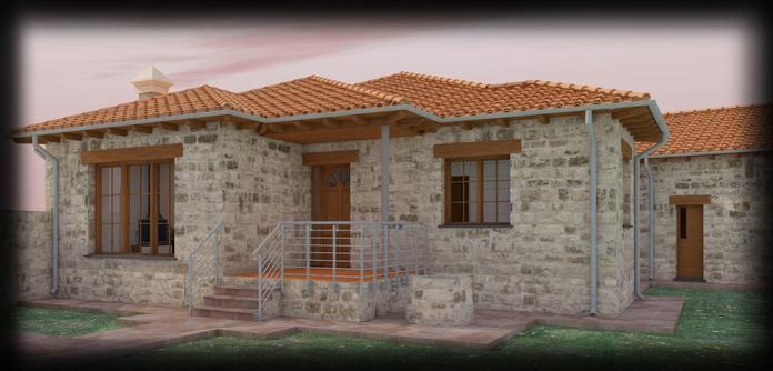 Vivienda Unifamiliar y Garaje en San Juan del Olmo, -Ávila-: Servicios y trabajo realizado de José Díaz, Arquitectos