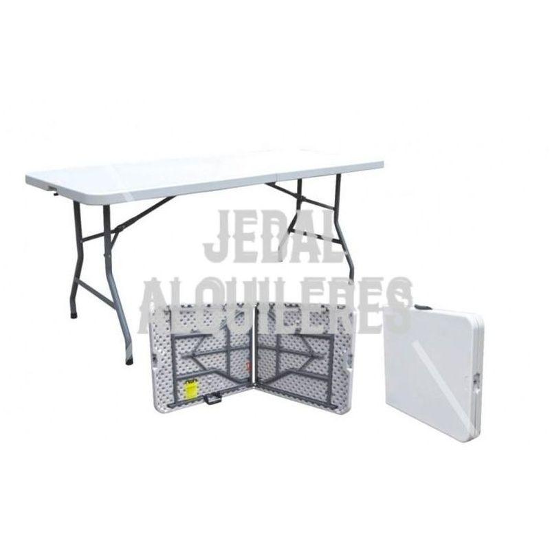 Mesa rectangular maleta: Catálogo de Jedal Alquileres