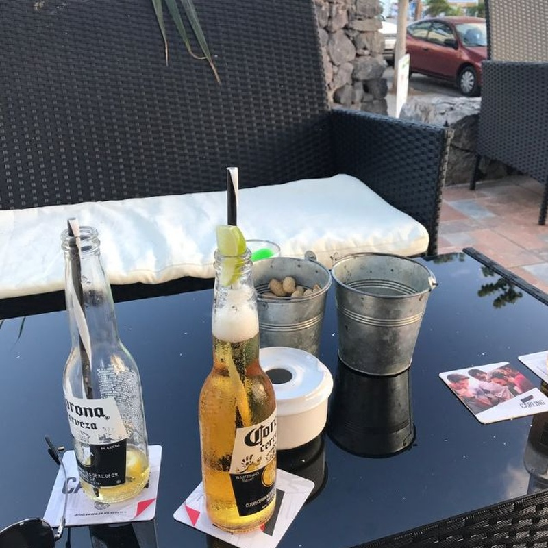 Bebidas: Carta de Cocoriba Lounge Bar
