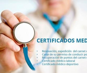 Renovación de carnets de conducir: Servicios de Clínica Rafael Ibarra-Usera