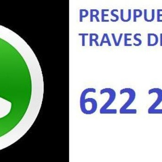 WHATSAPP 622223200 PIDE TU PRESUPUESTO.Rapidez y eficacia,Garantia !!