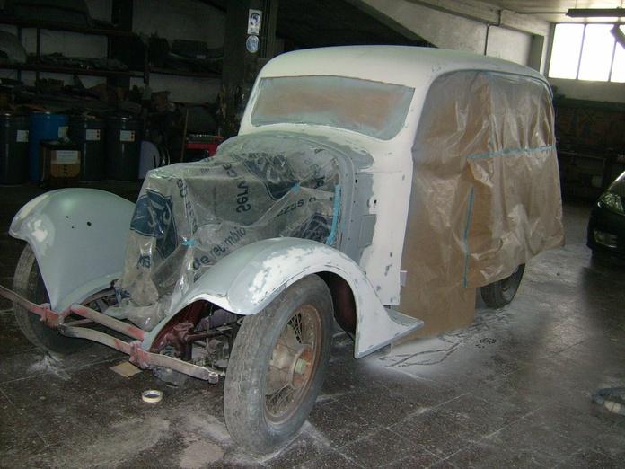Restauración de coches clásicos y de época: Servicios de Talleres de la Puente