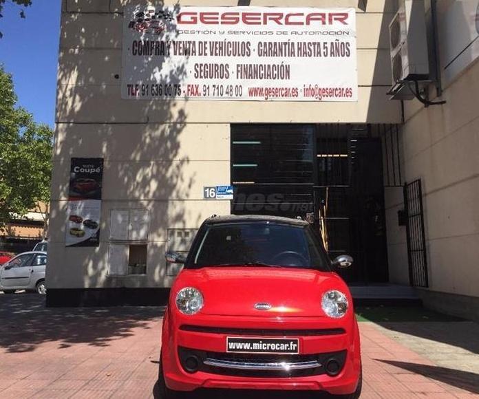 MICROCAR MGO SUPER OCASION 2016. Gesercar. Coches sin carnet en Las rozas de Madrid