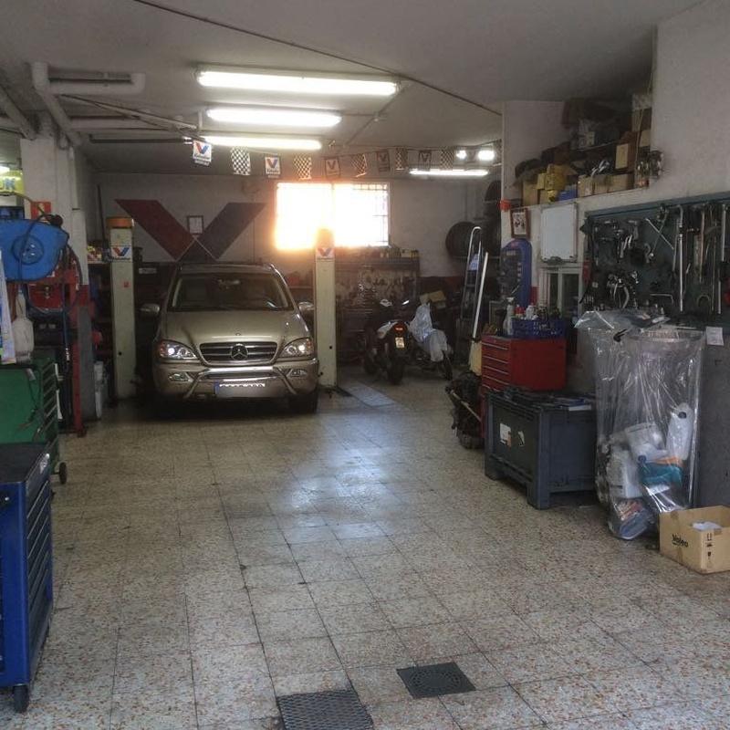 Chapa y pintura: Servicios de Taller Motor 94 Arroyomolinos