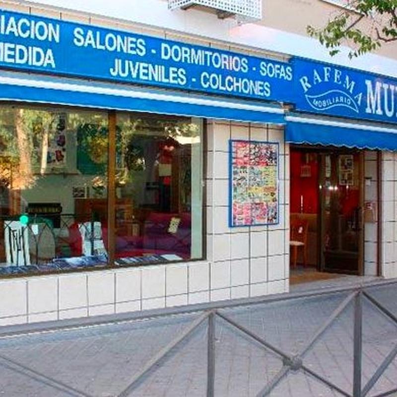 FOLLETO DE MUEBLES EN OFERTA: Productos de Mobiliario Rafema