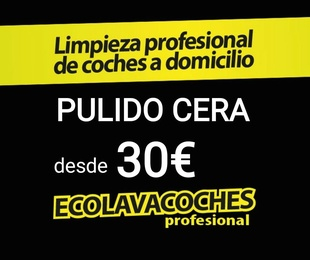 Añade al servicio Exterior Pulido Cera Carnauba 30€ Dirección Día Hora