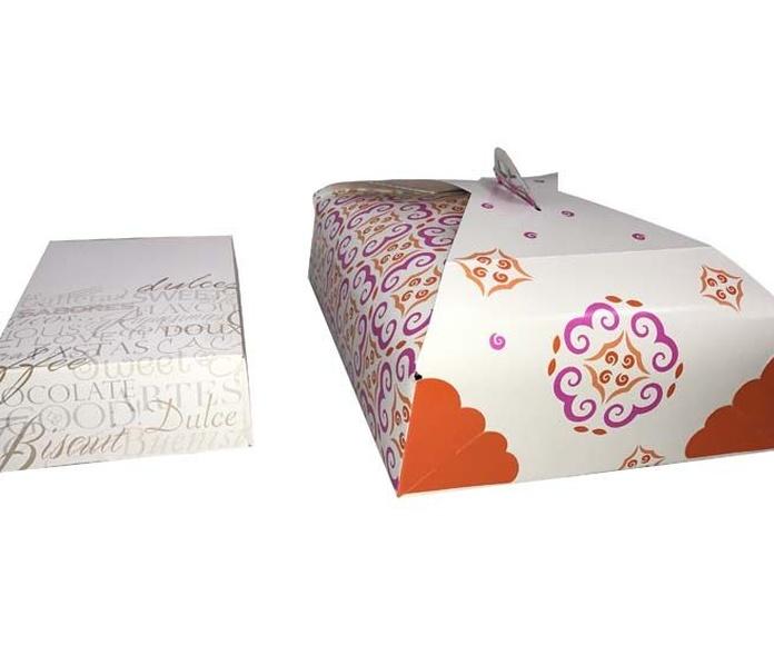 Caja de pastas, caja de tartas