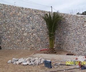 Construcción de muros de contención