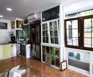 ventanas de aluminio y pvc/cristaleria