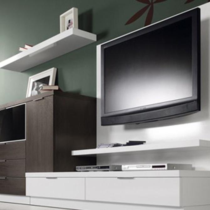 Composiciones modulares para el mobiliario de tu salón