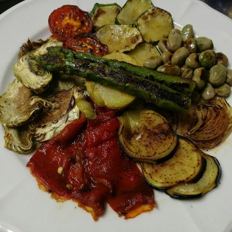 Menú vegetariano: Carta de Restaurante Arànega