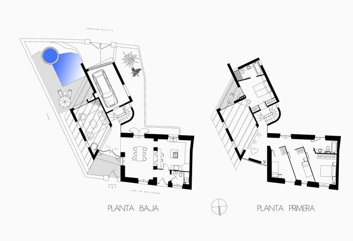 Plans  Studio FPM Architects Sitges }}