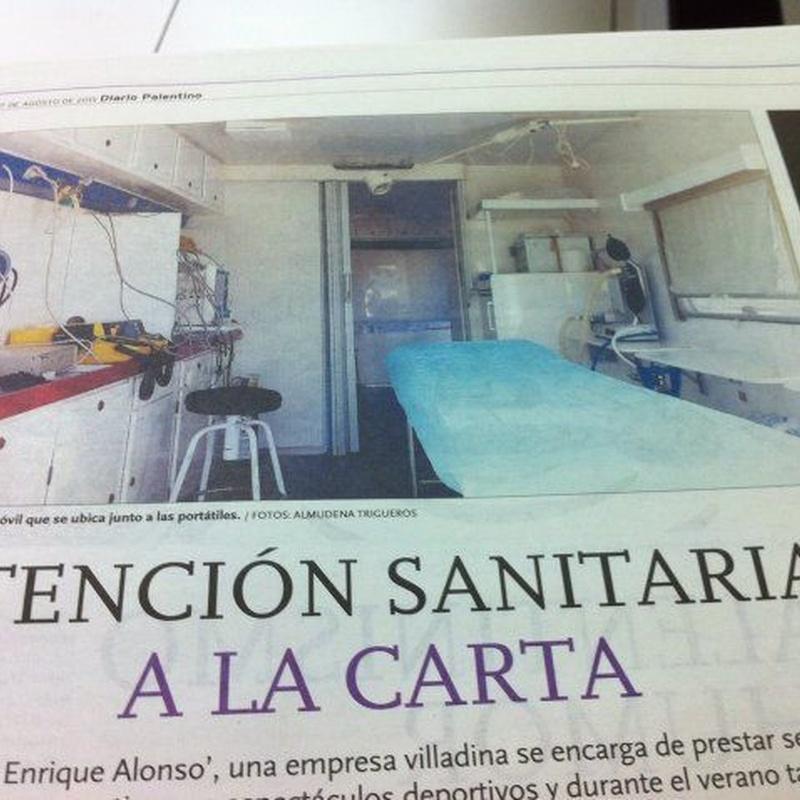 Unidad de reconocimientos médicos: Servicios de Ambulancias Enrique
