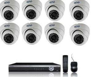 Kit de ocho cámaras