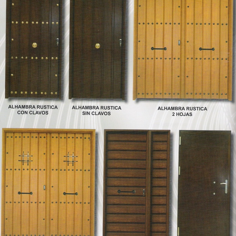 Puertas Rústicas: Productos y servicios  de Ventanas y Persianas Persiplast